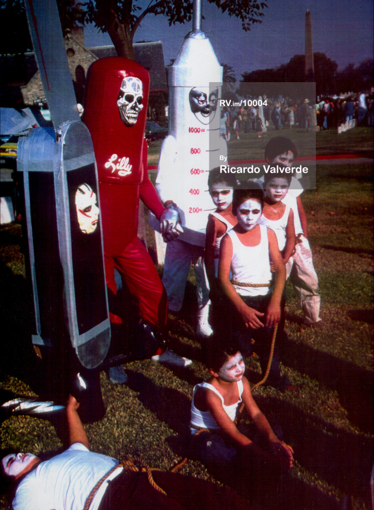 ASCO Dia de los Muertos Performance  Three Causes of Death 1976