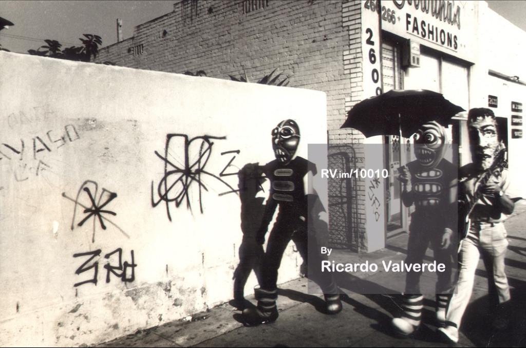ASCO Dia de los Muertos Perfomance  Termites y Guerrero 1975