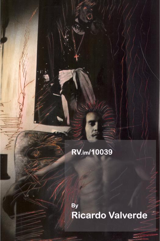 Self Portrait Con Mick 1973