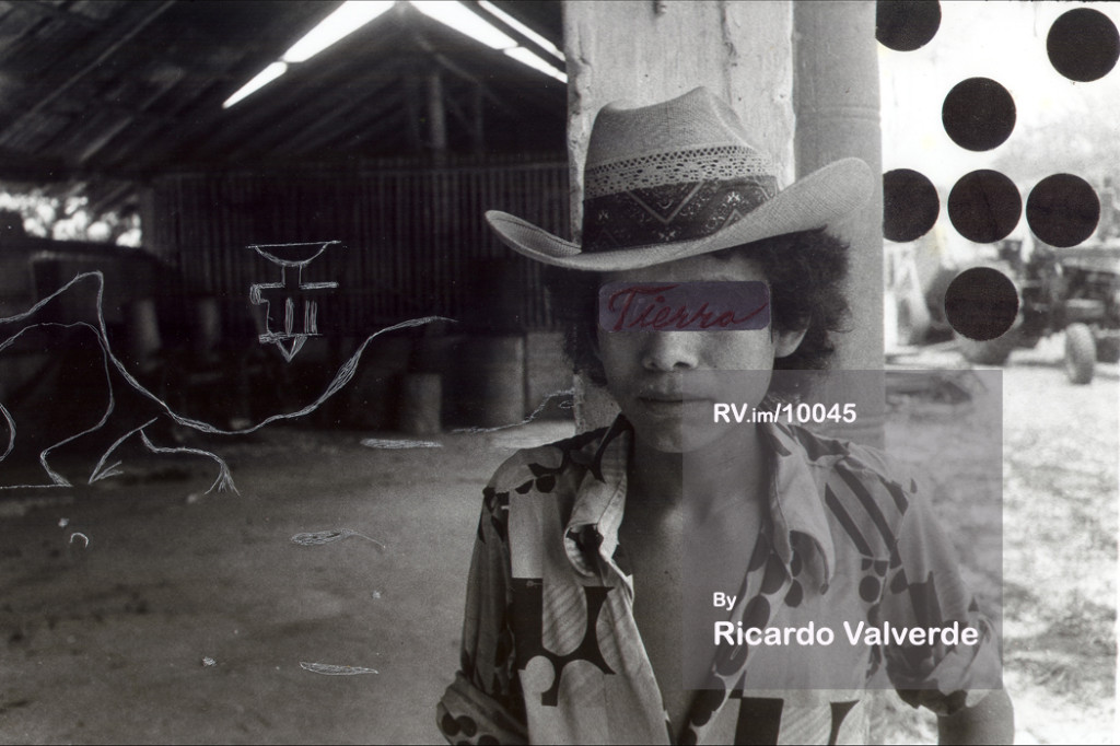 Untitled I. Photograph was taken in Mexico in 1978. Photograph altered in 1994.